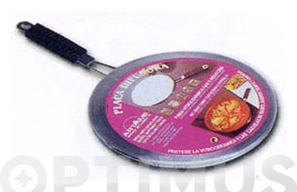 Placa difusora inox 19 cm