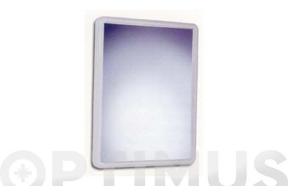 Espejo baño conico blanco 68 x 49 x 4 cm