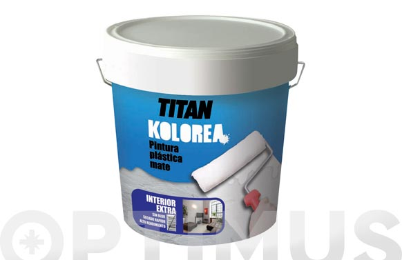 Pintura plastica mate decor interior 20 kg