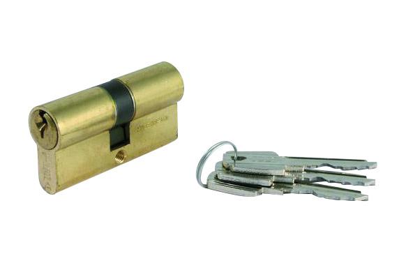 Cilindro te5 laton llave serreta 30-30