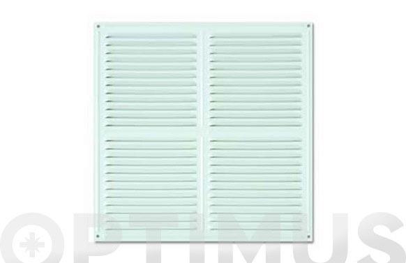 Rejilla ventilacion blanca 30 x 30 cm
