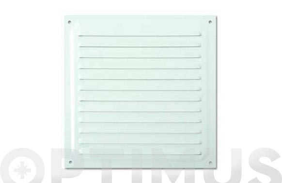 Rejilla ventilacion blanca 20 x 20 cm
