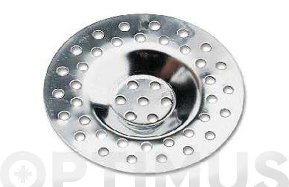 Rejilla inox (2 u) lavadero diam. 64 mm.