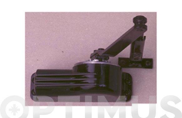 Cierrapuertas clasic sin retencion negro 22b50