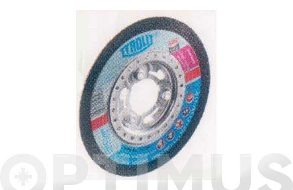 Disco corte acero/inox premium 125 x 1 x 22 plano