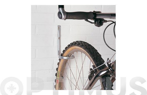 Gancho bicicleta pared