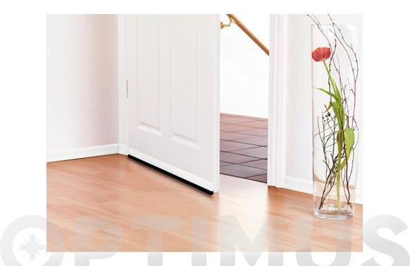 Barra puerta pvc 1m x 37mm transparente