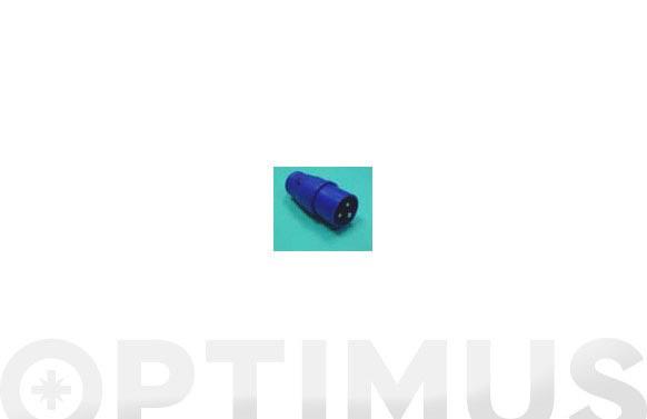 Clavija aerea cetac 2p+t 16a 230 v - azul