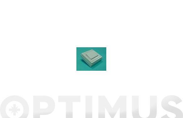 Conmutador superficie 6a 250 v blanco