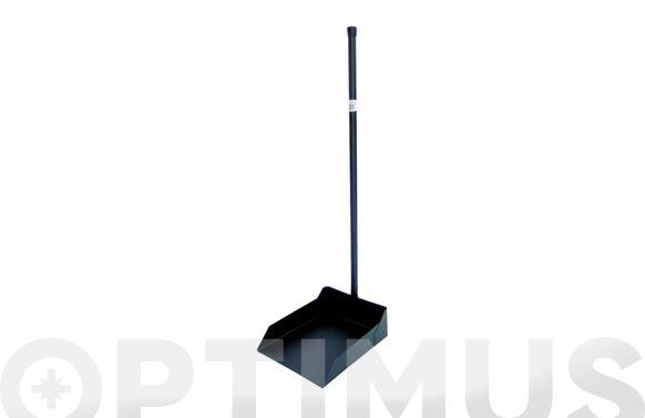Recogedor metalico negro 76 cm