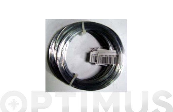 Alambre galvanizado en rollo brico n. 3/0,8 mm