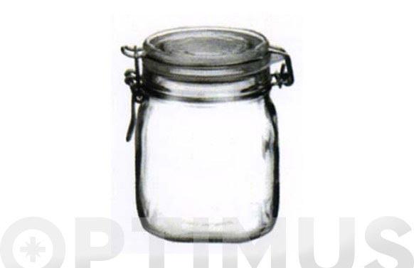 Tarro vidrio fido 1 l
