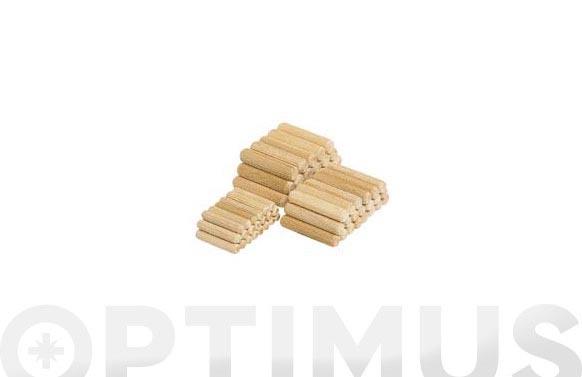 Espiga madera ensamblar 200 uds 6 mm x 30 mm