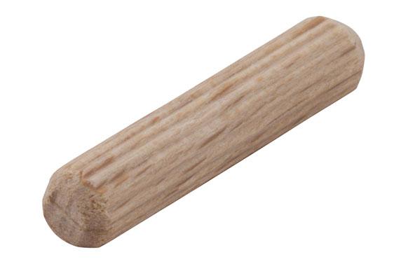 Espiga madera ensamblar 6 mm x 30 mm - 50 unidades