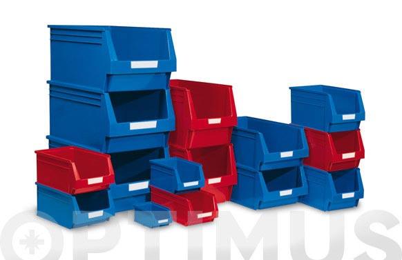 Gaveta apilable plastico n 51 azul 170 x 100 x 80 mm