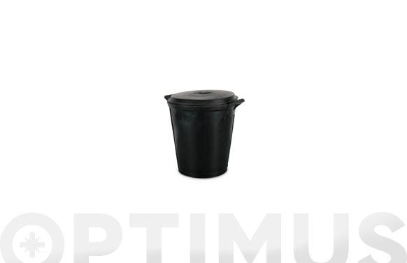 Cubo comunal goma sin tapa n. 6- 75 l