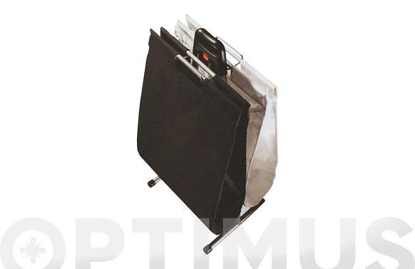 Cesto ropa sucia duo blanco y negro