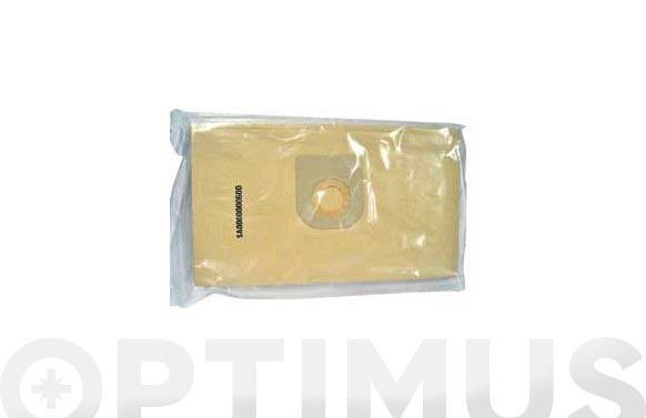 Bolsa papel aspirador 10 uds 62/90 l drako/cifec