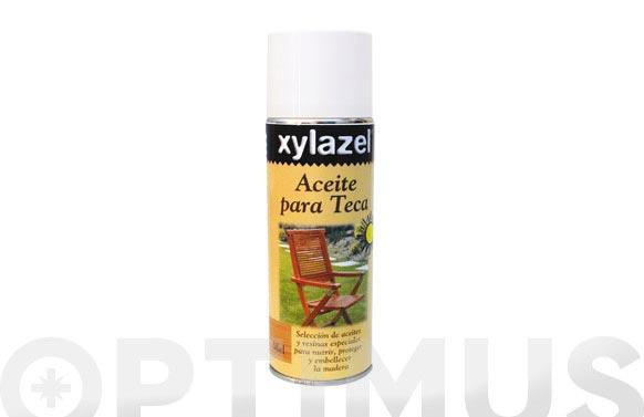 Aceite teca spray 400 ml-miel