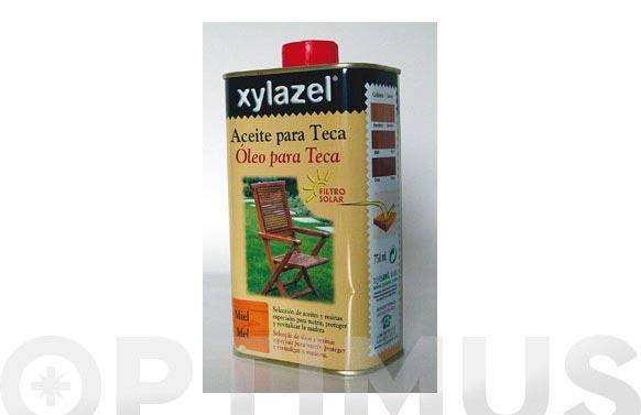 Aceite teca 750 ml miel