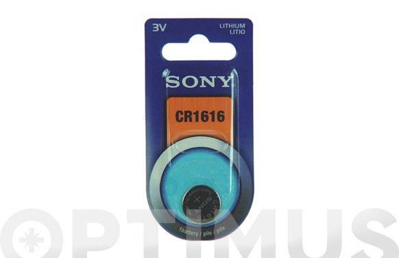 Pila boton de litio sony cr-1616