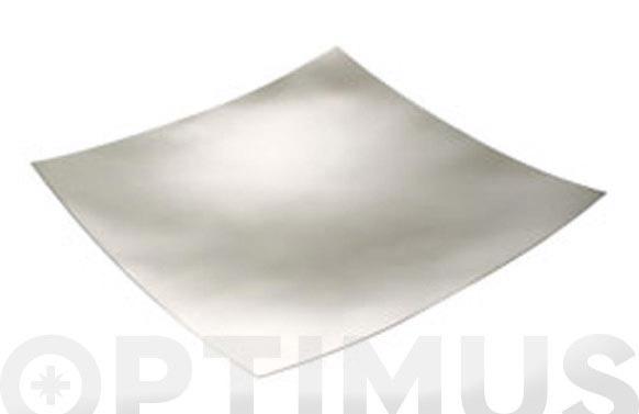 Centro de mesa cromado 35 x 35 cm