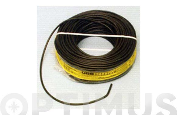 Cable manguera acr.0.6/1kv. 4 x 2,5 negro 100 m