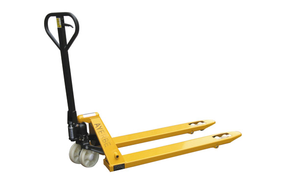 Transpaleta manual 2500 kg ruedas nilon