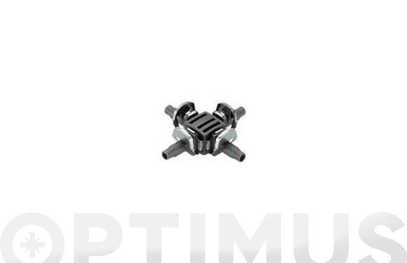 Pieza en cruz micro drip premium 10 uds ø 4,6 mm 3/16''