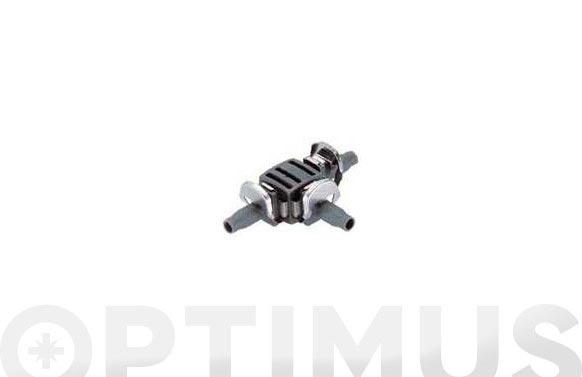 "Pieza en ""t"" micro drip premium 10 uds ø 4,6 mm 3/16''"