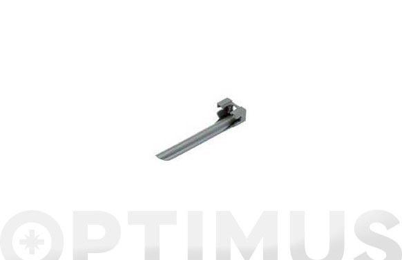 Soporte tubo micro drip 'premium' 4,6 mm 3/16'' 3 uds