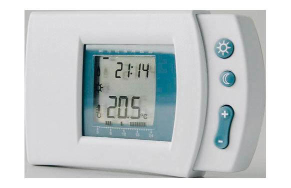 Cronotermostato digital semanal programable calefaccion y a.a.