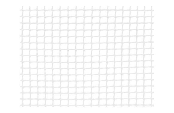 Malla cuadranet premium (malla 10x10mm) 400gr/m2 1 x 25 m blanca