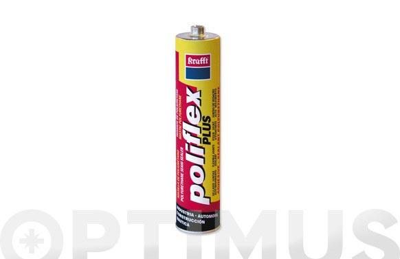 Masilla poliuretano poliflex plus blanco 300 ml