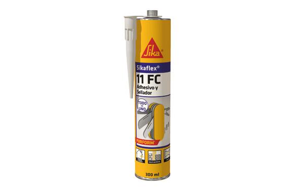 Masilla poliuretano sikaflex 11fc blanco 300 cc
