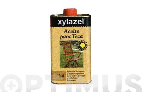 Aceite teca 5 l incoloro