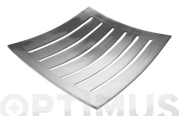 Centro aluminio perforado 34 x 34 cm