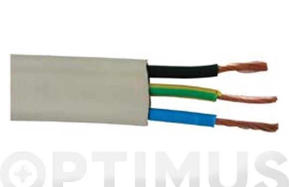 Cable manguera extraplana 3 x 1,5 25 mt