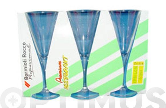 Copa ypsilon (pack 3 unidades) agua