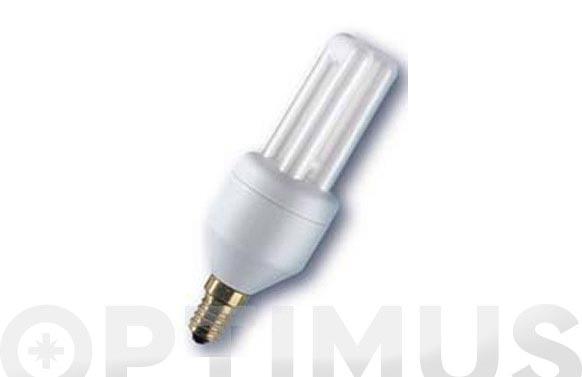 Bombilla bajo consumo dulux el econo bl e14-12 w-luz calida