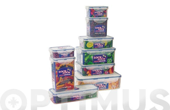 Contenedor alimentos rectangular 470 ml