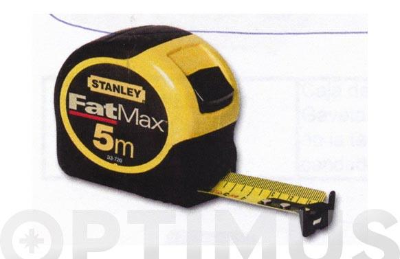Flexometro bimateria fat max 5 m-32mm
