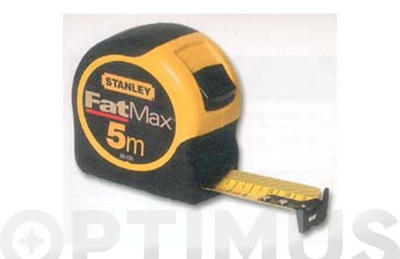 Flexometro bimateria fat max 8 mt-32mm
