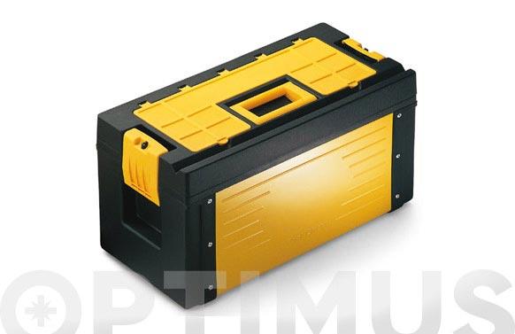 Caja herramientas metal pro-18 45,5 x 26,5 x 25 cm