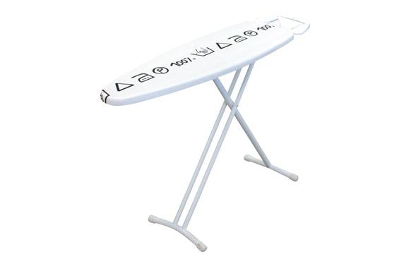 Mesa planchar 116x35cm simple-blanco