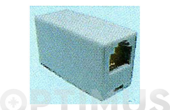 Adaptador sencillo p/conector 6p4c