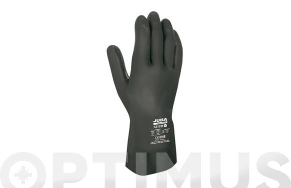 """Guante """"grandeur 70"""" neopreno con latex negro t/10-10,5"""
