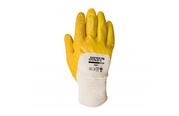 Guante nitrilo ligero t 9 amarillo