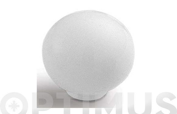 Pomo poli-dur bola blanco