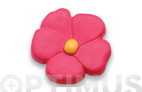 Pomo infantil nylon flor